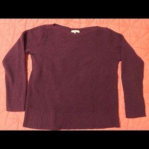 Madewell wool sweater - burgundy M